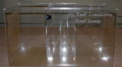 MRC 48&quot; Reef Sump  - Refugium - 48x20x20