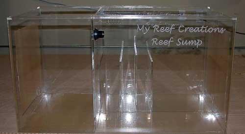 """MRC 48"""" Reef Sump  - Refugium - 48x20x20"""
