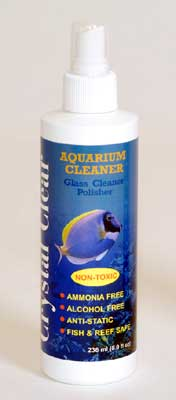 Crystal Clear Glass Cleaner Polisher 8oz
