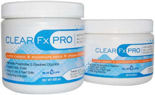 Blue Life Clear FX Pro Filter Media 450 ml - Treats 50 gals.