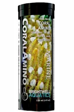 Brightwell CoralAmino - Free Form Amino Acid Supplement for Corals 2L
