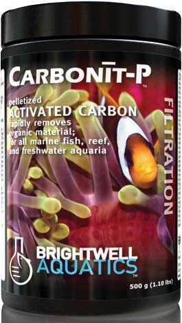 Brightwell Carbonit-P Premium Aquarium Pelletized Carbon (Fresh or Salt) 3.2 Kg. / 7 lbs.