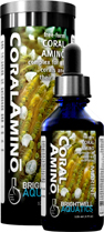 Brightwell CoralAmino - Free Form Amino Acid Supplement for Corals 250 ml /8.5 fl. oz.