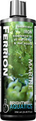 Brightwell Ferrion - Liquid Iron Supplement for Reef Aquaria and Refugia 250 ml /8.5 fl. oz.