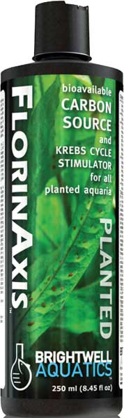 Brightwell FlorinAxis Carbon Source & Krebs for Planted FW Aquaria 250 ml /8.5 fl. oz.