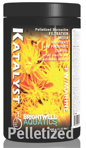 Brightwell Katalyst - Bioreactive Filtration Media for Nitrate and Phosphate Control in all Aquaria 3.2 kg