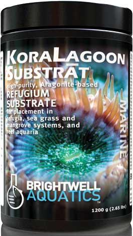 Brightwell KoraLagoon Substrat Aragonite Refugium Substrate 5.4 kg. / 12 lbs.