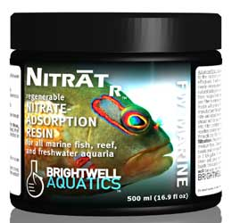 Brightwell NitratR - Regenerable Nitrate-adsorption Resin for all Aquaria 3.8 l