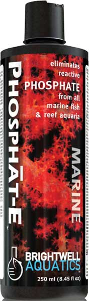Brightwell Phosphat-E Liquid Phosphate Remover for all Marine Aquaria 250 ml