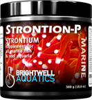 Brightwell Strontion-P - Dry Strontium Supplement for Reef Aquaria 300 g. / 10.6 oz.