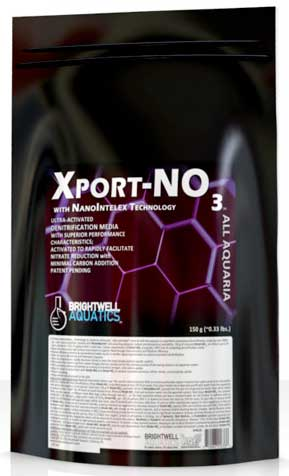 "Brightwell Xport-NO3 - 1/2"" Cubes; Ultra-activated Denitrification Media 1000 g"