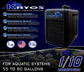 Deep Blue Kryos Advanced Aquatic Chiller 1/10 HP
