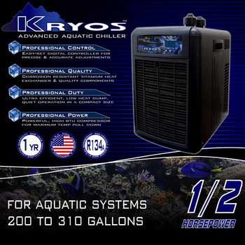 Deep Blue Kryos Advanced Aquatic Chiller 1/2 HP