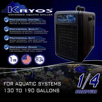Deep Blue Kryos Advanced Aquatic Chiller 1/4 HP