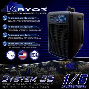 Deep Blue Kryos Advanced Aquatic Chiller 1/6 HP