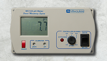 Milwaukee MC122 pH Controller � A/C