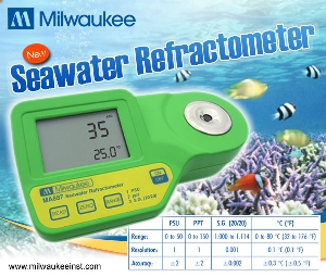 Milwaukee Seawater Refractometer