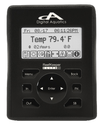 Digital Aquatics ReefKeeper Elite (Plus-Titanium display) 30-0011-004