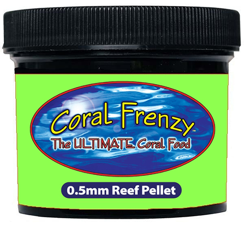 Coral Frenzy .5mm Reef pellet 70 gram
