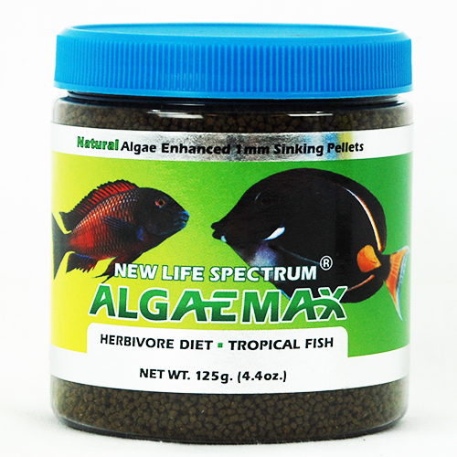 New Life Spectrum AlgaeMax 1mm Algae Enhanced Pellet 125g
