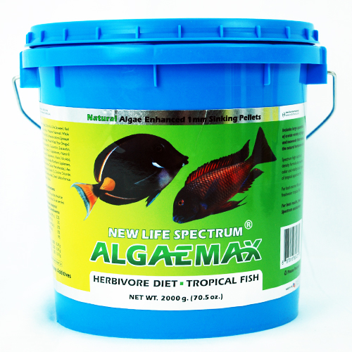 New Life Spectrum AlgaeMax 1mm Algae Enhanced Pellet 2000g
