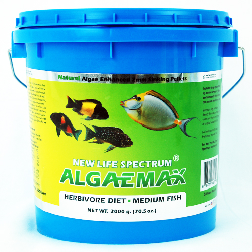 New Life Spectrum AlgaeMax 2mm Algae Enhanced Pellet 2000g