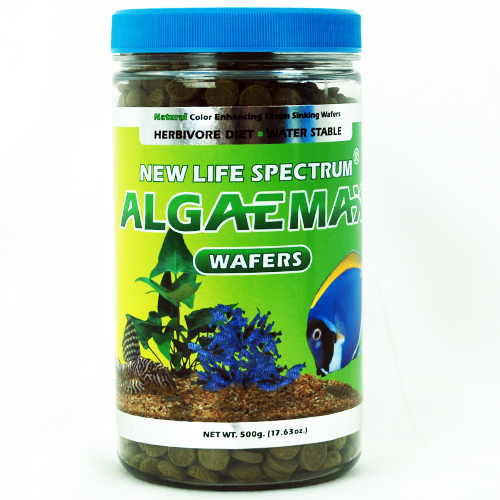 New Life Spectrum AlgaeMax 12mm Sinking Wafers 500g