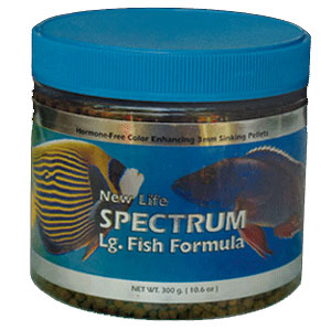 New Life Spectrum Large Fish Food 250gm