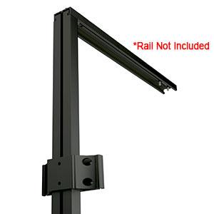 """AI EXT 48"""" Upright Rail Black"""