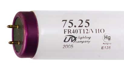 """24"""" VHO UVL 75.25 14,000K T12 Fluorescent Lamp"""