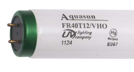 "24"" 20w UVL Aquasun T12 Fluorescent Lamp"