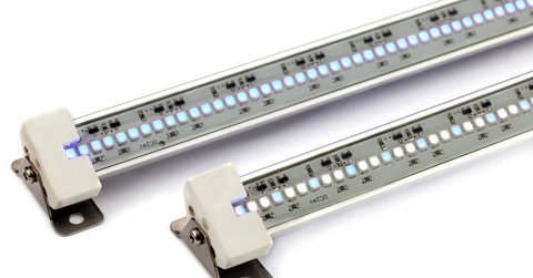 "24"" TrueLumen Pro Series LED Strip Light, Marine Fusion 12K White/453nm Actinic"