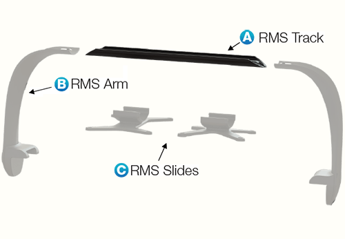 "Radion Multi-Light RMS 20"" Rails"