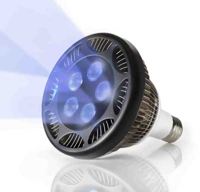 Ecoxotic PAR38 LED Aquarium Lamp 21watt 455nm Royal Blue (5 - Royal Blue) #6851