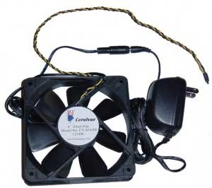 "Smart Fan 4"" - Thermal Speed Controlled"