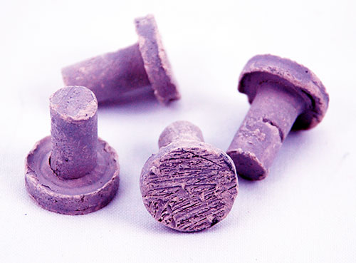 Frag Station Purple Coralline Ceramic Coral Plug - 40 Pack