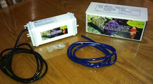 H2OZONE UPS350 120V Ozonator 35mg/hr