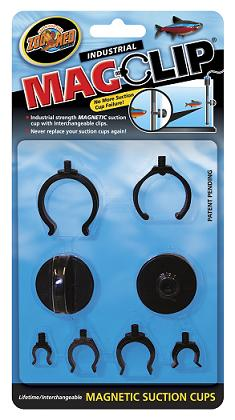 Zoo Med Magclip Magnet Suction Cup Probe Holders
