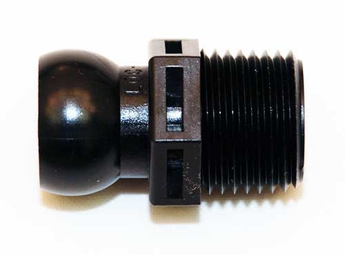 "1/2"" Loc-Line Modular Pipe MPT X Connector"
