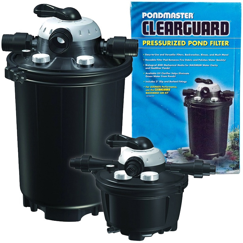 Pondmaster Clearguard Model 16 - No UV - Filters up to 16000 gal pond