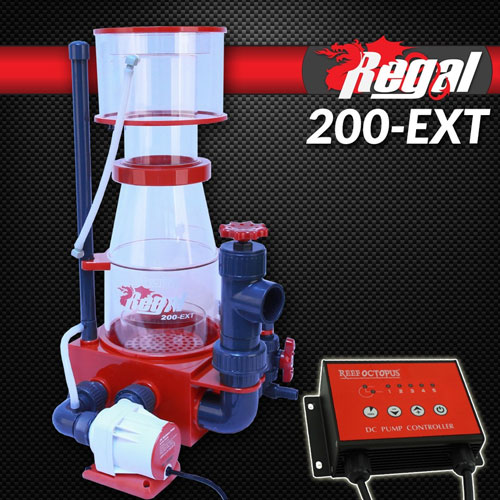 "Regal 8"" Recirculating Skimmer w/DC Pump - REGAL-200EXT"