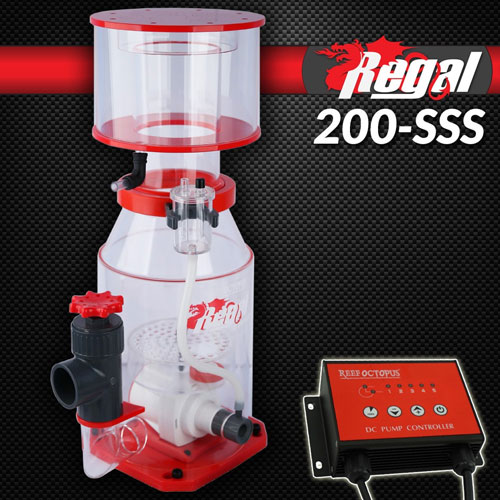 "Regal 8"" Recirculating Skimmer w/DC Pump - REGAL-200SSS"
