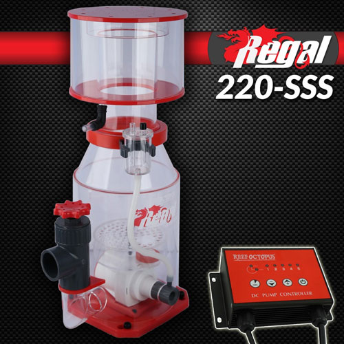 "Regal 9"" Recirculating Skimmer w/DC Pump - REGAL-220SSS"