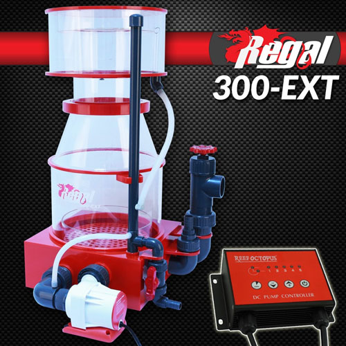 "Regal 12"" Recirculating Skimmer w/DC Pump - REGAL-300EXT"