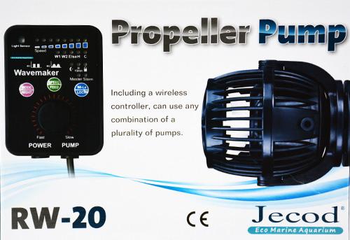 Jebao RW20 Wavemaker Propeller Pump