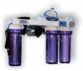 Aqua FX Barracuda 50 gpd RO/DI w/ Booster Pump