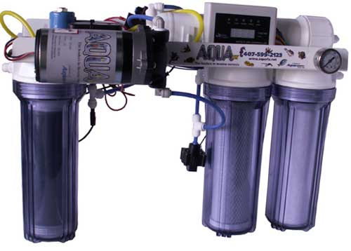 Aqua FX Octopus 200 gpd RO/DI - Low Waste Water!