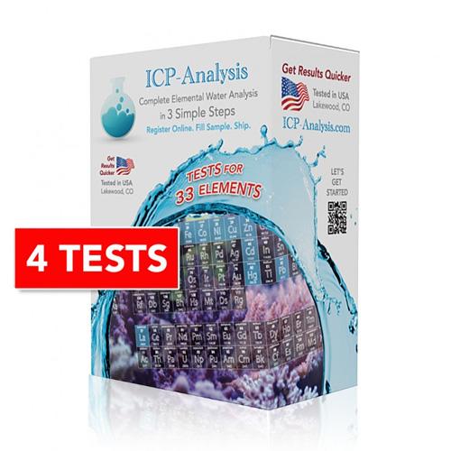 ICP Water Analysis Quad Pack