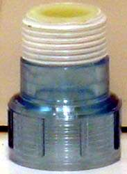 Aqua Ultraviolet Quartz Cap - Clear - A40011