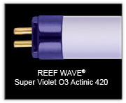 "Wave Point 48"" 54w  Reef Wave Actinic 03 T5 Lamp"
